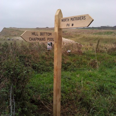 Dorset Footpath Fingerpost