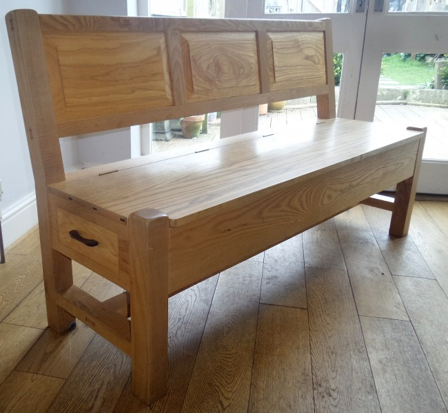 Bespoke Bench with Drawers