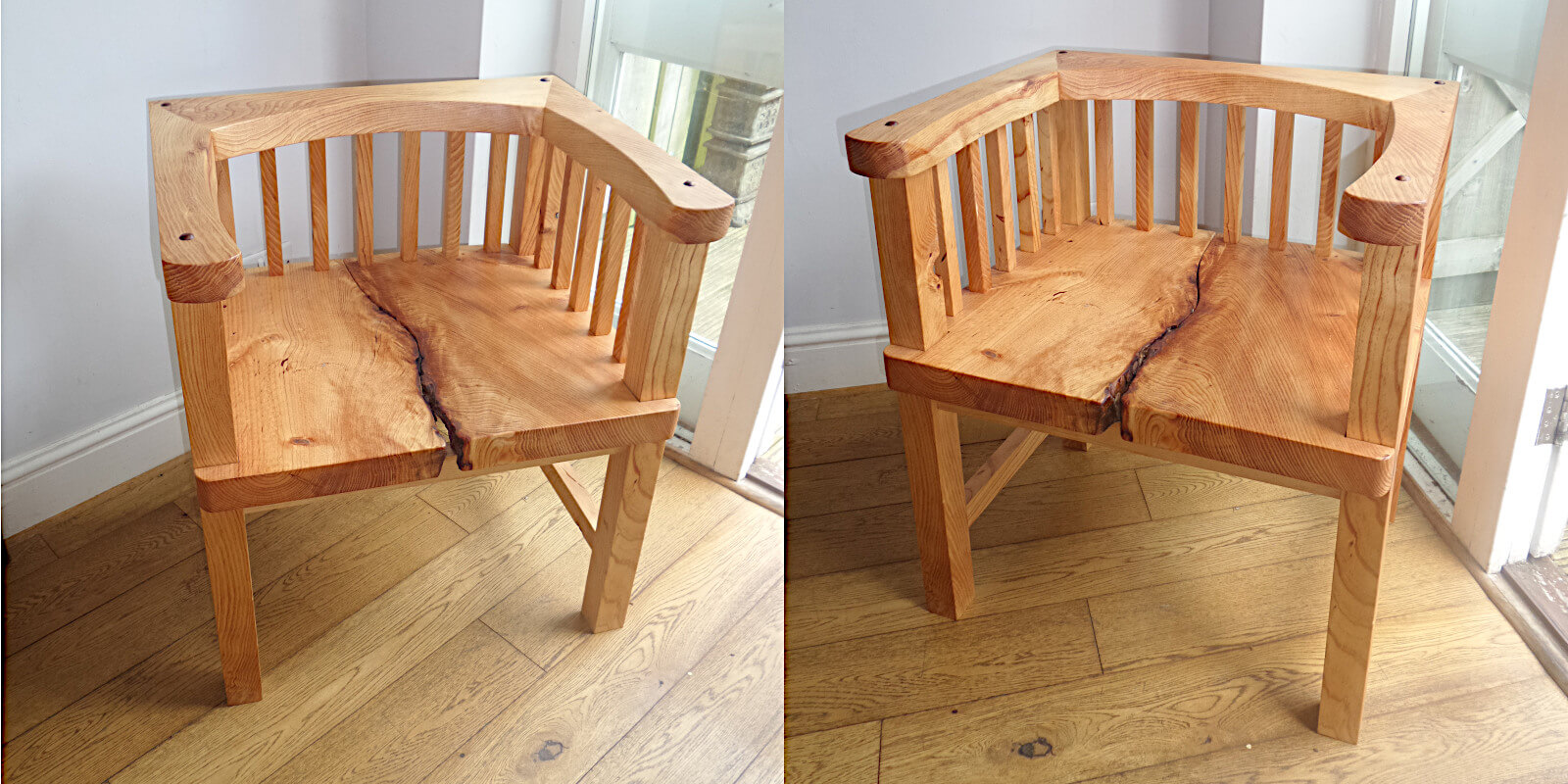 Bespoke Handcrafted Pine Chair